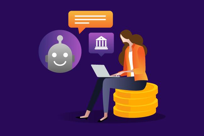 Qué son los chatbots transaccionales y cómo se usan en el sector financiero