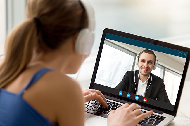 Videollamadas en banca y finanzas